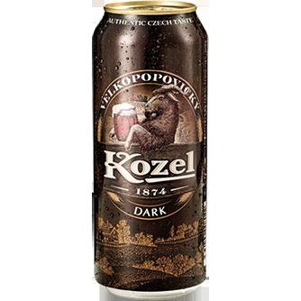 Kozel Dark Lager (Case of 24 x 500ml Cans)