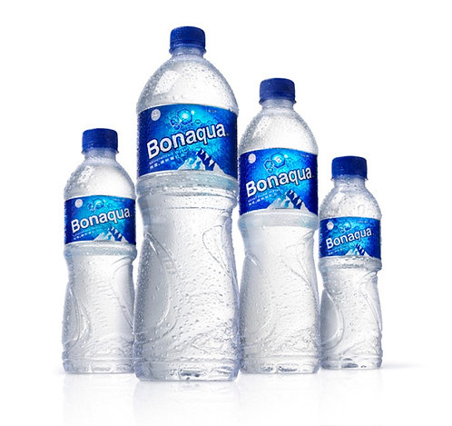 Case of 12 x 1.5L plastic bottles Bonaqua 1.5L 飛雪水