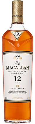 The Macallan 12 Years Sherry Oak Single Malt Whisky