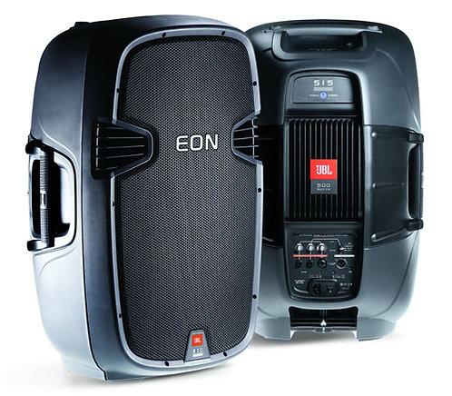 2 x portable speaker system