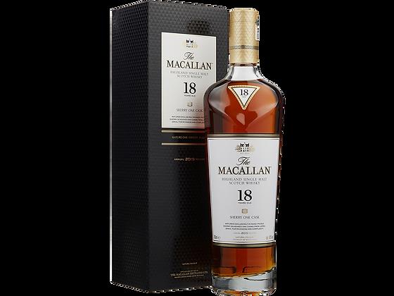 The Macallan 18 Years Sherry Oak Single Malt Whisky