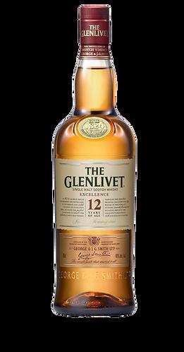 The Glenlivet 12 Years Excellence Single Malt Whisky 70cl