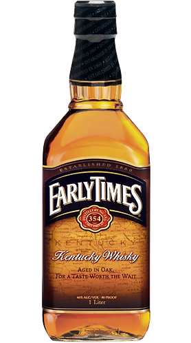 Early Times Bourbon Whisky 100cl