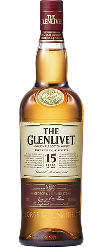 The Glenlivet 15 Years Old Single Malt Scotch Whisky 70cl