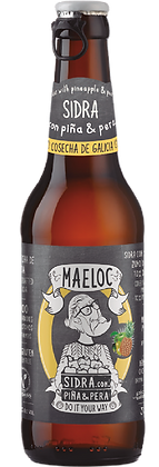 Maeloc Pineapple & Pear Cider (Per Bottle)