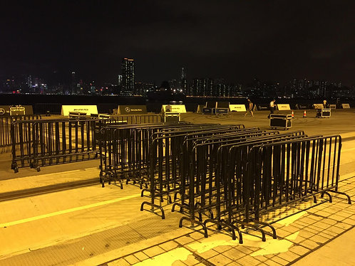 Metal Barrier in Black/ Silver colour 黑色鐵欄