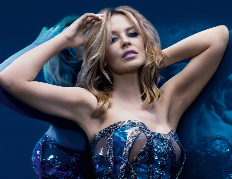 Kylie Minogue August 2013