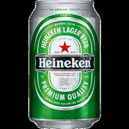 Heineken (Case of 24 x 330ml Cans)