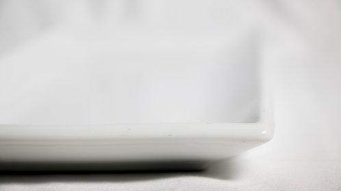 White Long Platter 37cm x 15cm 白瓷方碟 (長方形)