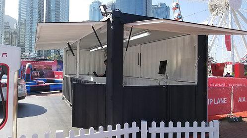 20' festival container