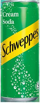 Schweppes - Cream Soda (Tall Can)
