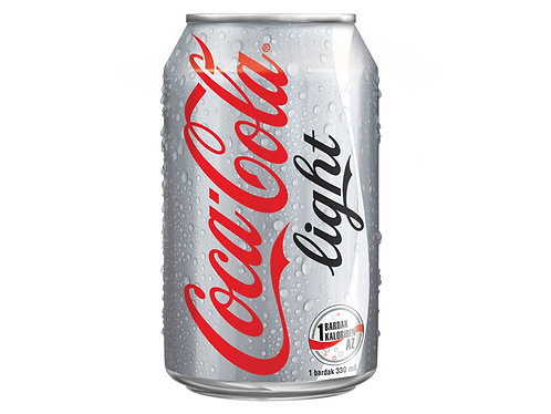 Case of 24 x 330ml cans Coke Light 健怡可樂