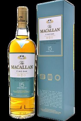 The Macallan 15 Years Fine Oak Malt