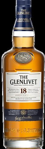 The Glenlivet 18 Years Old Single Malt Scotch Whisky 70cl
