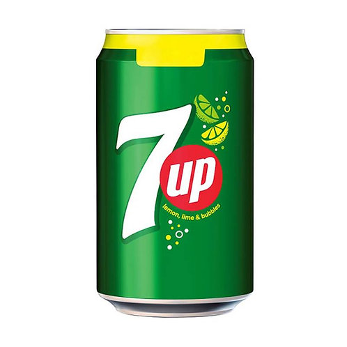 Case of 24 x 330ml cans 7UP 七喜
