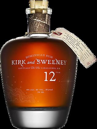 Kirk And Sweeney 12 Years Rum