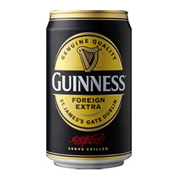 Case of 24 x 330ml cans Guinness