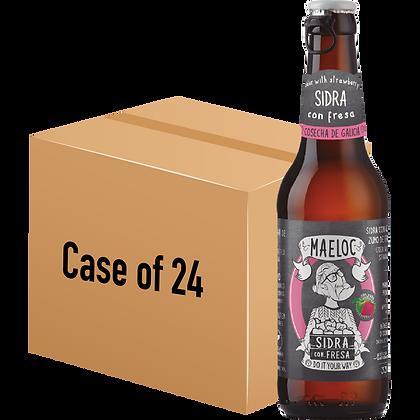 Maeloc Strawberry Cider (Case of 24 x 330ml Bottle)