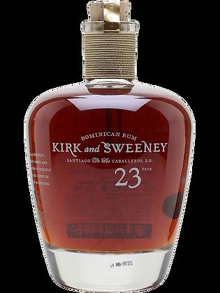 Kirk & Sweeney 23yrs Rum