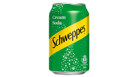 Schweppes - Cream Soda (Can)