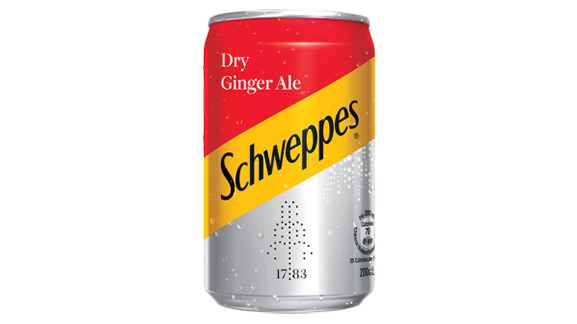 Schweppes - Ginger Ale (Mini Can)
