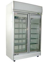 920L 2 Door Display Freezer 920公升冷凍展示櫃
