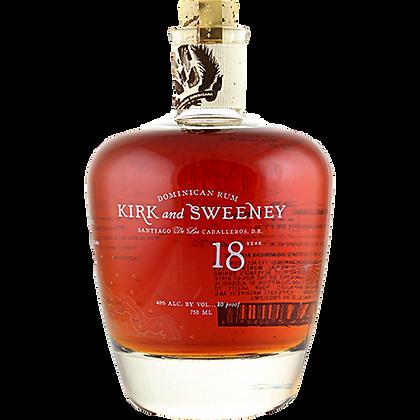 Kirk & Sweeney 18yrs Rum