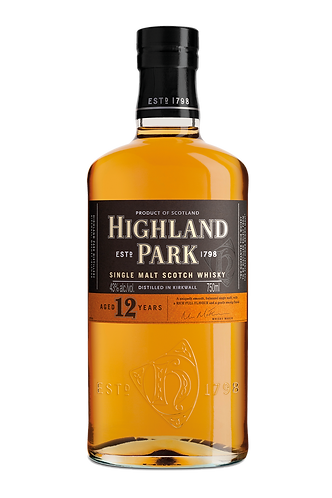 Highland Park 12 Years Old Single Malt Scotch Whisky 70cl