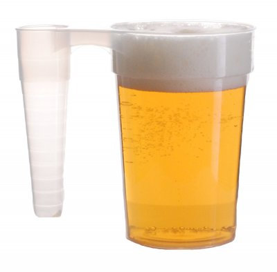 Stackable Reusable Festival Beer Cups