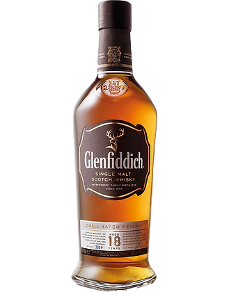 Glenfiddich 18 Years Single Malt Whisky