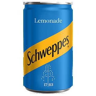 Schweppes - Lemonade Soda (Mini can)