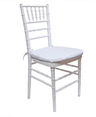 Chiavari Chairs – White 白色椅子