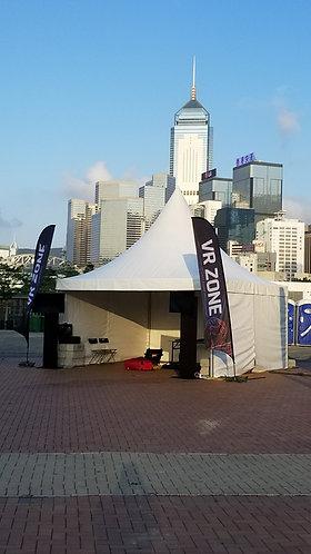 5m x 5m Pagoda tents (White) 5米x 5米帳篷