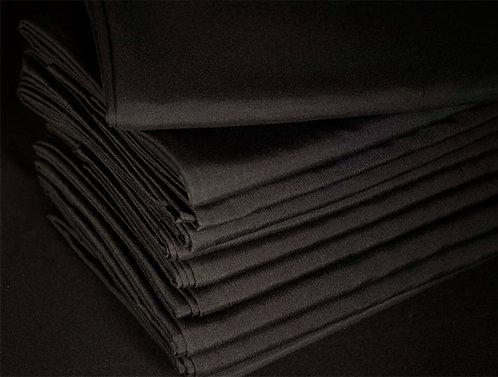 Black tablecloth Mix Cotton & Polyester黑色枱布