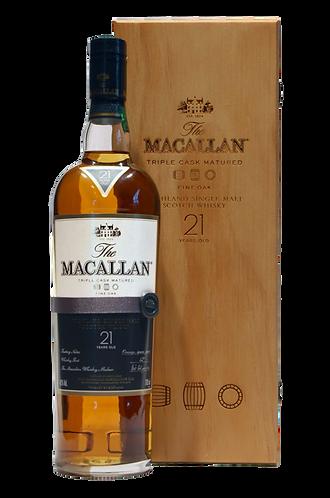 The Macallan Fine Oak 21 Years Old Single Malt Scotch Whisky 70cl