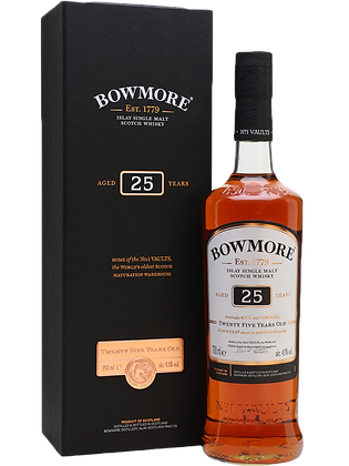 Bowmore 25 Years Single Malt Whisky