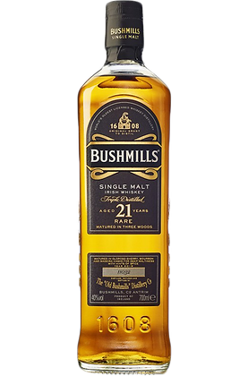 Bushmills 21 Years Single Malt Irish Whiskey