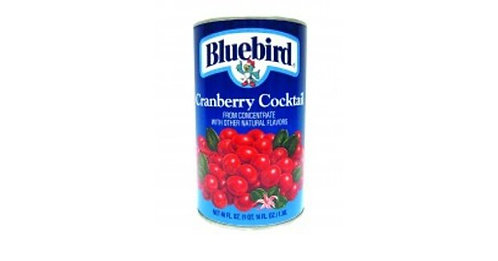 Bluebird Cranberry Juice