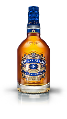 Chivas Regal 18 Years Old Gold Signature Blended Scotch Whisky 70cl
