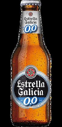 Estrella Galicia Lager 0.0% (Per Bottle)