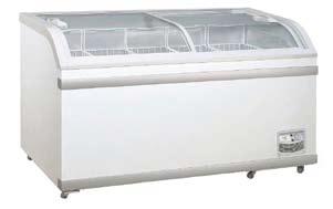 1.5m Curved Glass Display Freezer 1.5m冷凍趟門玻璃展示櫃
