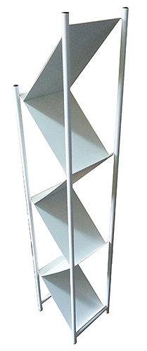 Z Brochure Rack White Z型小冊子資料架(白色)