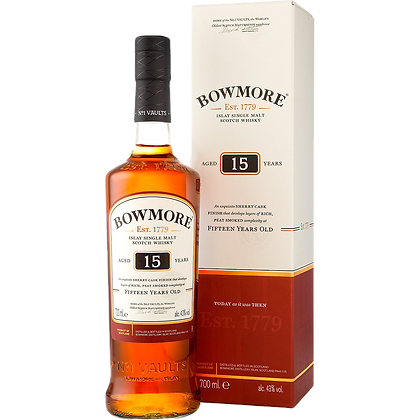 Bowmore 15 Years Single Malt Whisky