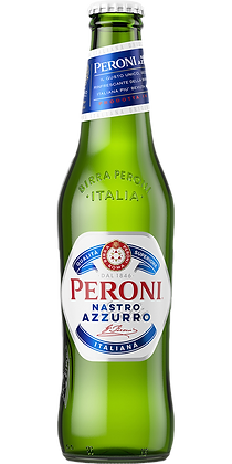 Peroni Nastro Azzurro (Case of 24 x 330ml Bottles)