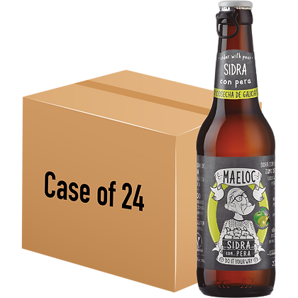 Maeloc Pear Cider (Case of 24 x 330ml Bottle)