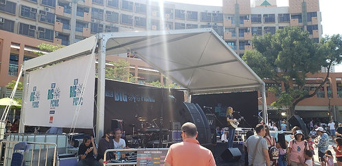 10m x 5m x 4.85m(h)  Stage Cover