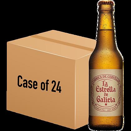La Estrella de Galicia (Case of 24 x 330ml Bottle)