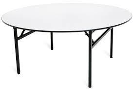 Padded Top Round banquet tables 宴會用大圓桌 (直徑1.8米)