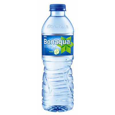 Case of 24 x  plastic bottles Bonaqua 500ml 飛雪水