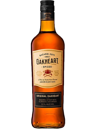 Barcadi Oak Heart Spiced Rum